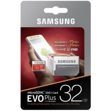 Карта памяти SAMSUNG EVO PLUS 32GB UHS-I
