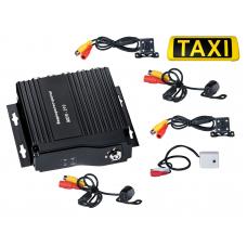 Комплект видеонаблюдения для Такси (на 4 камеры)