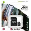 Карта памяти MicroSDHC 32Gb Kingston class 10 100Mb/s